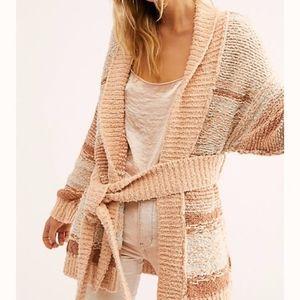 Free people Cozy Cabin Cardi Sweater